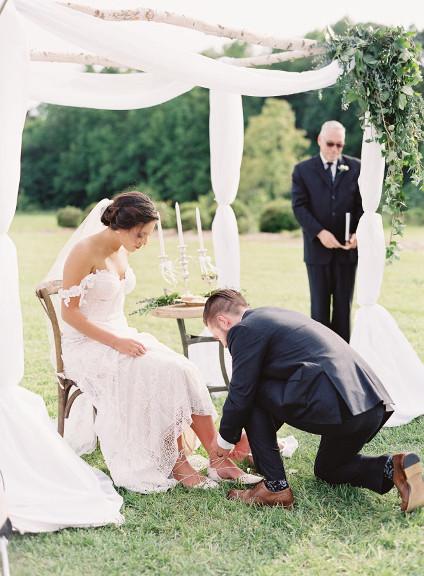 Rituel de cérémonie de mariage
