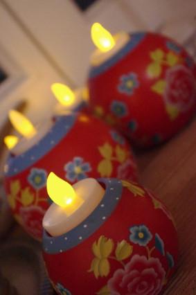 Bougies à LED pour décoration de mariage