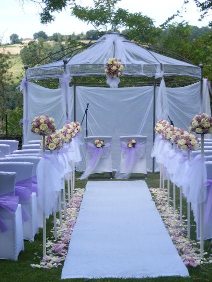 Cérémonie de mariage à Mâcon