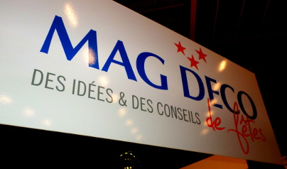 Le stand Mag'Déco au salon du mariage de Chalon-sur-Saône