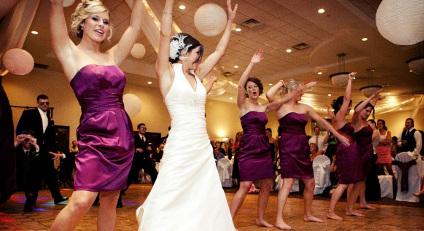 Ambiance à un mariage