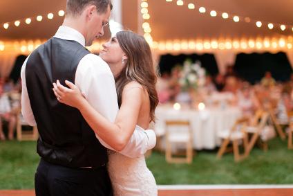 Ouverture de bal à un mariage
