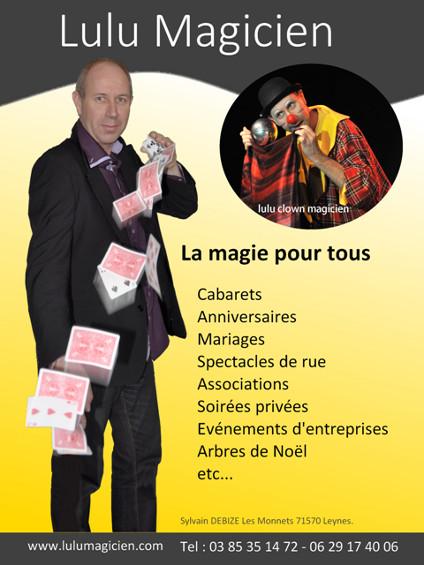 Magicien à Mâcon