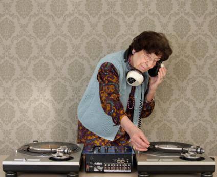 La musique diffusée par le DJ