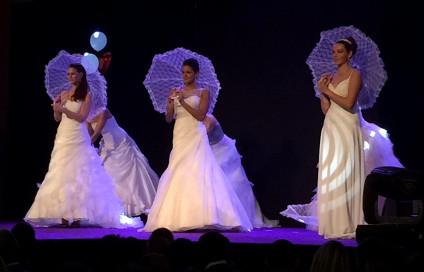 Le comité Miss Bourgogne au salon du mariage de Chalon-sur-Saône