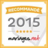 Sonovation est recommandé sur mariages.net - Label OR