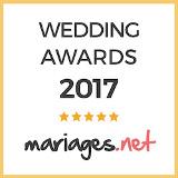 Sonovation a reçu le prix Wedding Awards 2017 pour la catégorie Musique