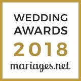 Sonovation a reçu le prix Wedding Awards 2018 pour la catégorie Musique