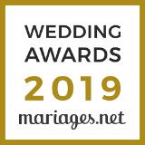 Sonovation a reçu le prix Wedding Awards 2019 pour la catégorie Musique