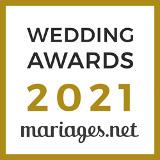Sonovation a reçu le prix Wedding Awards 2021 pour la catégorie Musique