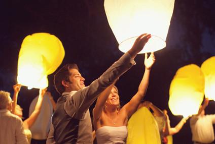 Organiser un lâché de lanternes