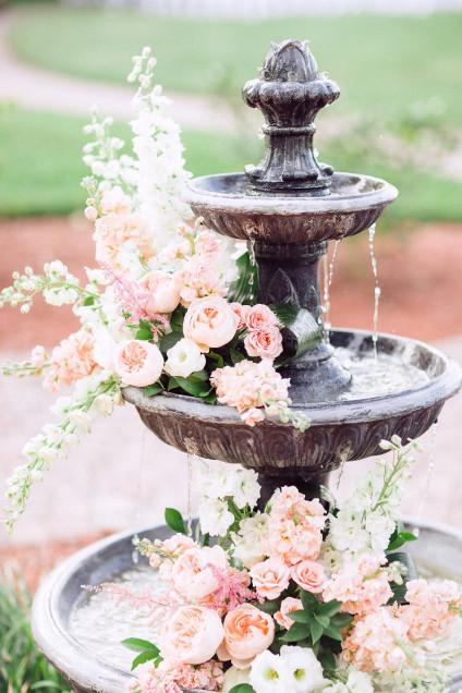 Fontaine à un mariage
