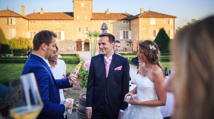 Magicien de mariage dans le Beaujolais