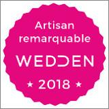 Sonovation obtient le label Artisan Remarquable du mariage 2018 par Wedden